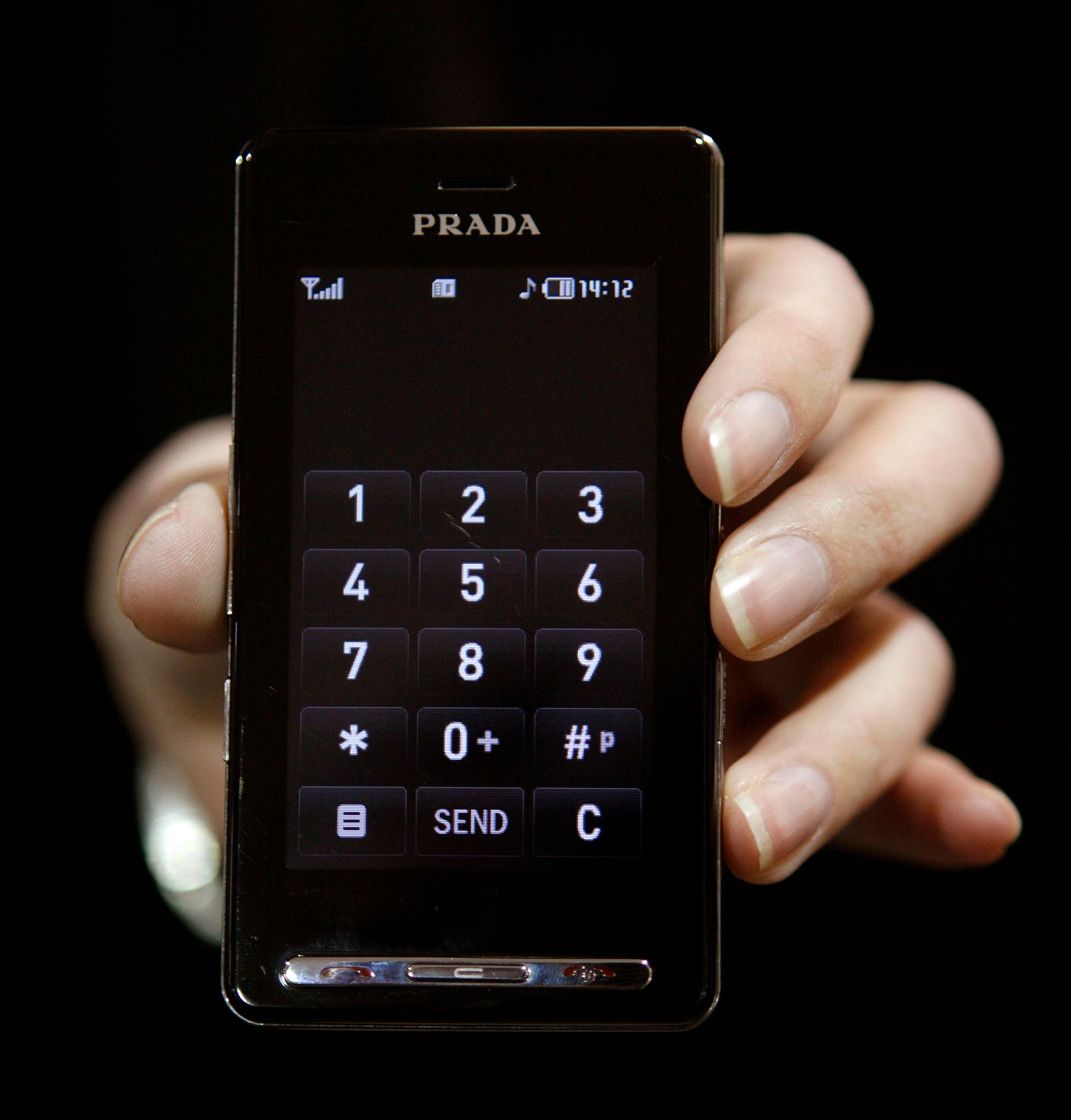 The 2007 LG Prada was arguably the first iPhone-alike touch screen phone.