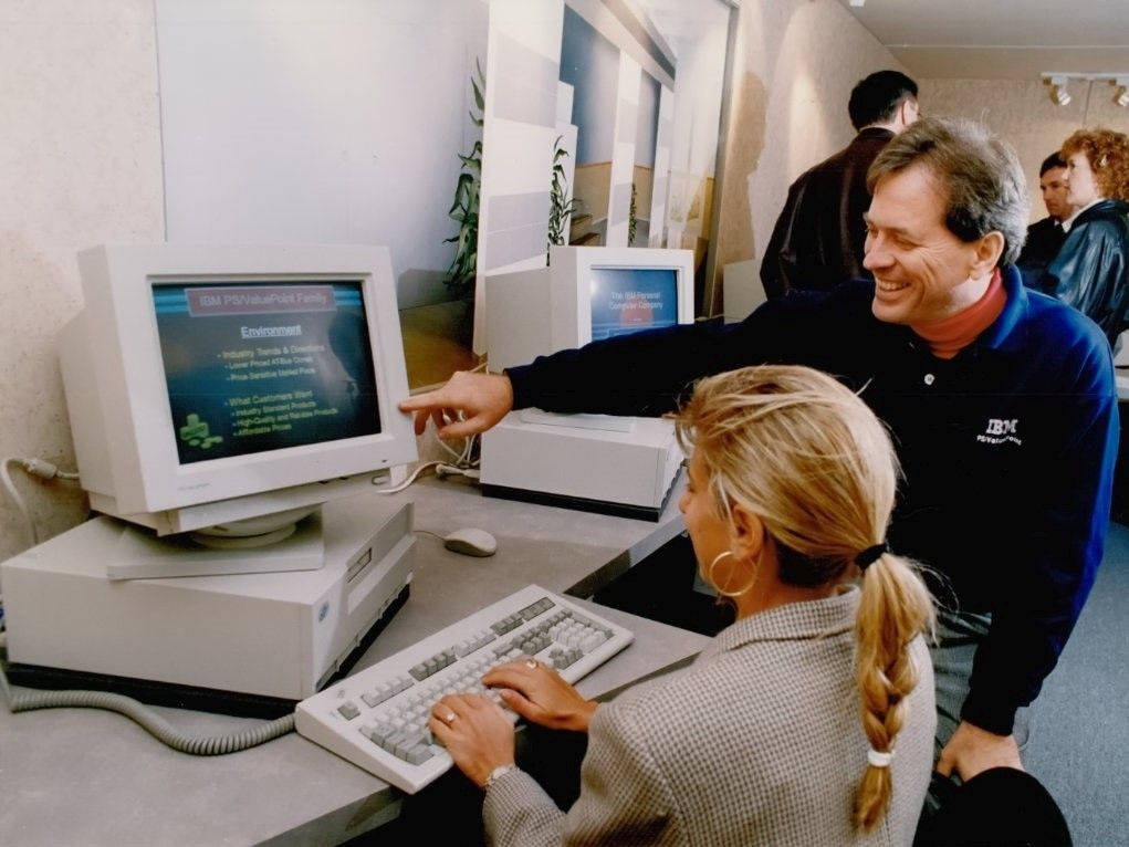 IBM PS/ValuePoint were a lower-cost alternatives to the company's pricier computers, designed to compete with PC clones.